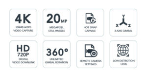 YUNEEC E90 kamera 2