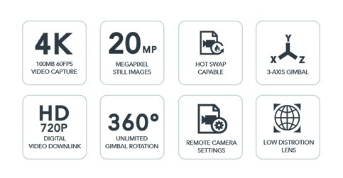 YUNEEC H520 (ipari drón) E90 kamerával 7
