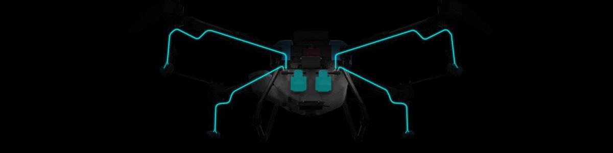AGR Q10 Permetező drón (10 literes tartállyal) 7
