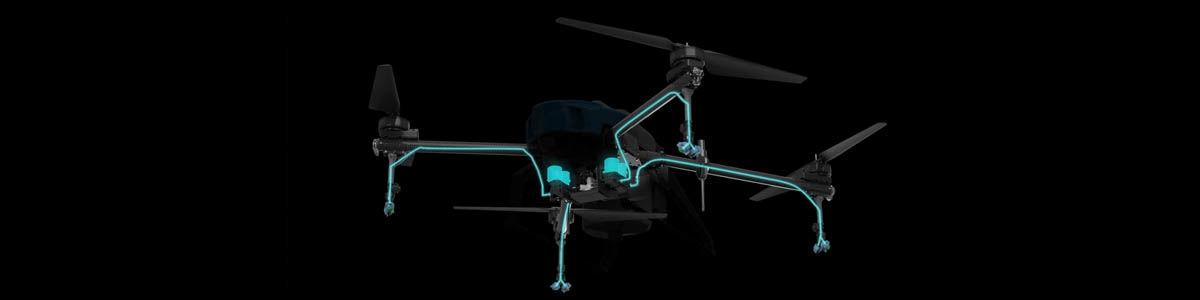 AGR A16 Permetező drón (16 literes tartállyal) 7