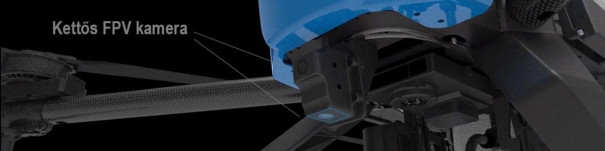 AGR A22 RTK Permetező drón (22 literes tartállyal, radarral) 9