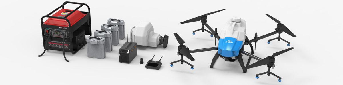 AGR A22 RTK Permetező drón (22 literes tartállyal, radarral) 12