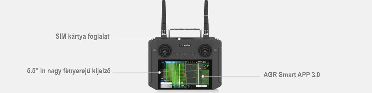 AGR A22 RTK Permetező drón (22 literes tartállyal, radarral) 10